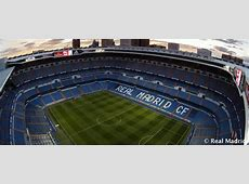 Estadio Santiago Bernabéu History Real Madrid CF