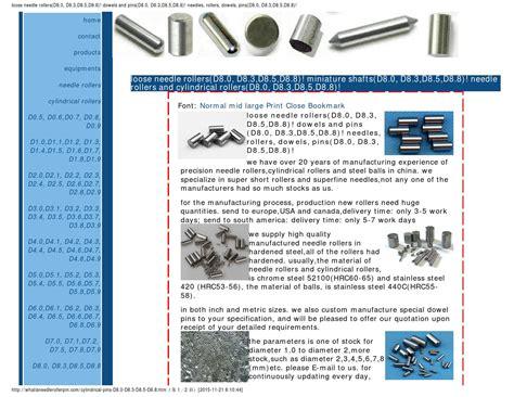 d8 cuisine cylindrical pins d8 0 d8 3 d8 5 d8 8 by rollerstech issuu