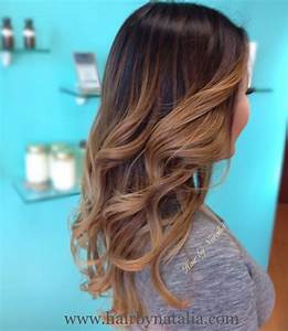 Ombré Hair Marron Caramel : balayage bronder ombre warm caramel sombre soft ~ Farleysfitness.com Idées de Décoration