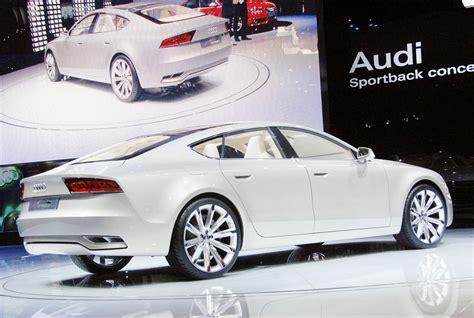 Audi A7 Sportback Concept Live At 2009 Detroit Auto Show