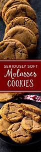 Seriously Soft Molasses Cookies | Sally's Baking Addiction