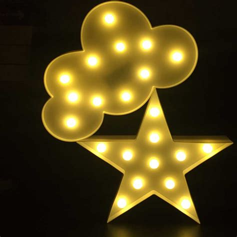 led cloud light meaningsfull 3d marquee cloud led light warm white