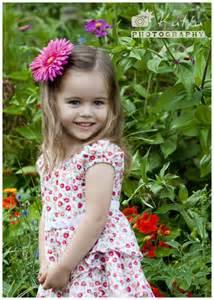 Little Girls Garden Painting