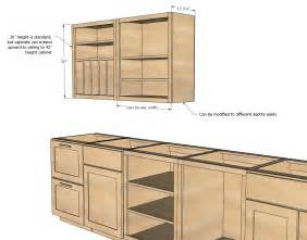 diy kitchen cabinet ideas white wall kitchen cabinet basic carcass plan diy projects