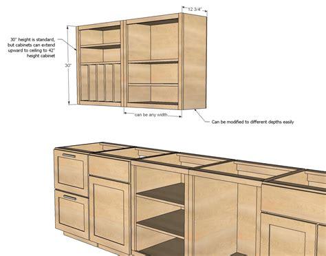 common standard kitchen cabinet sizes