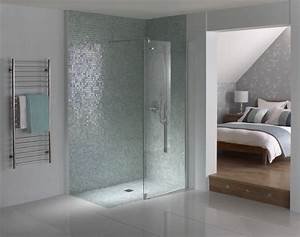 Walk in shower or wet room consider the benefits for Wet floor bathroom designs