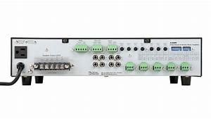 6 Input 120 70v  100v  8 U03a9 Mixer Amplifier