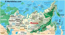 Russia Map / Geography of Russia / Map of Russia ...