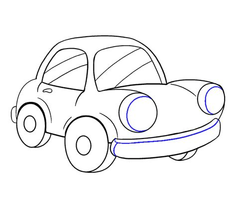 cartoon car drawing how to draw a cartoon car easy step by step drawing guides