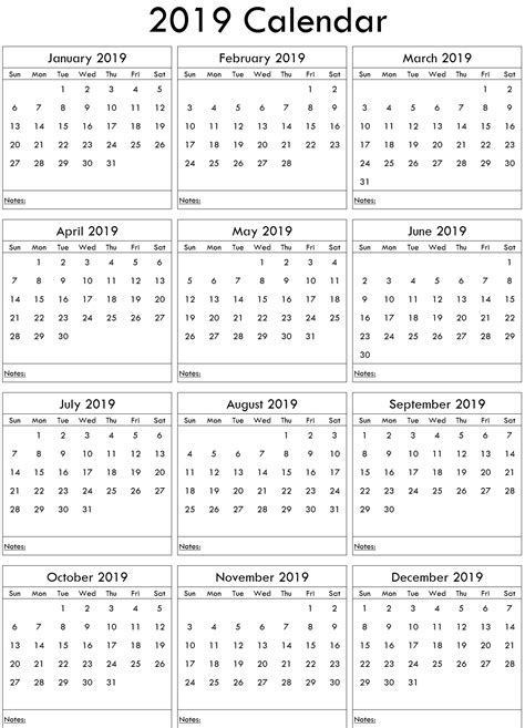 excel yearly calendar uk  printable