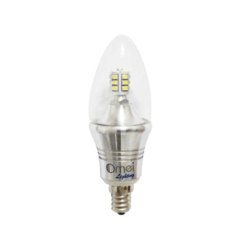 60 watt equivalent dimmable b12 decorative candle led