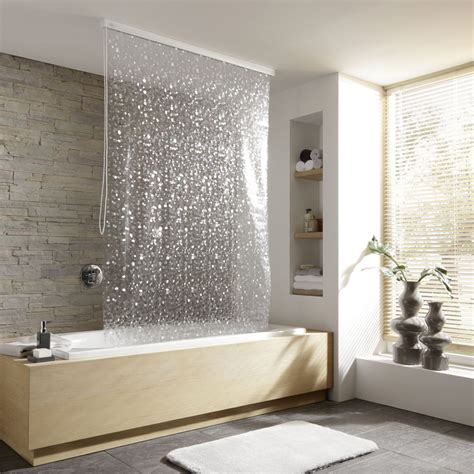 Commercial Blackout Curtains by Kleine Wolke Vinyl Pearl Shower Roller Blind Victorian