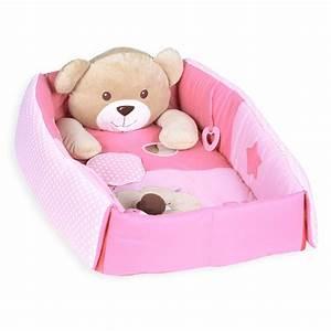 Baby Nestchen Rosa : kuschelb r erlebnisdecke nestchen mit spielbogen 3 in 1 ~ Watch28wear.com Haus und Dekorationen
