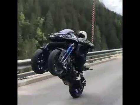 Yamaha Niken Wheelie by Yamaha Niken 2018 Power Wheelie