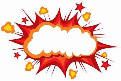 Explosion Box Clipart Explode Comics Mushroom Comic