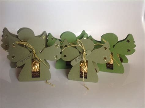 kreativtine tischdeko fuer weihnachten rocher engel