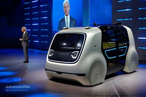 Volkswagen Sedric Concept Is The New Face Of The Vw Group