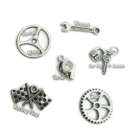 Car Part Charms - SOLD SEPARATELY / Garage Girls Jewelry