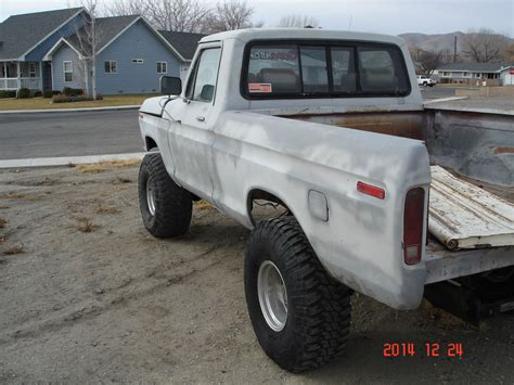 ford  short bed  running project rare lifted