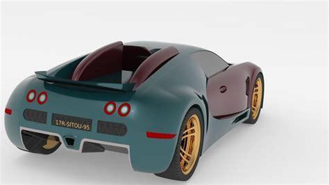 Autoart 70937 Bugatti Veyron Super Sport Carbon Black 1