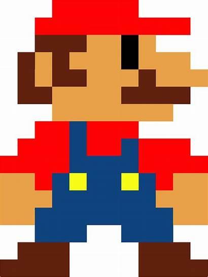Mario Pixel Bros Clipart Pipe Bits Transparent