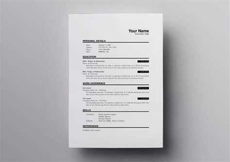 10 latex resume cv templates academic tech