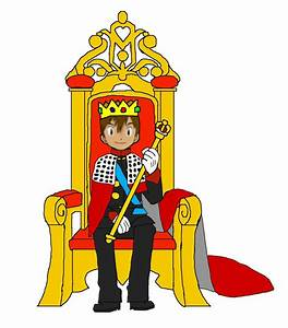 HD On Throne Clipart King Library