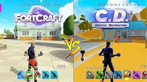 FORTCRAFT VS CR... Creative Destruction