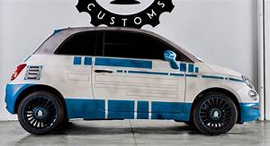Premiere Fiat 500 : fiat 500 r2 d2 and bb 8 by garage italia celebrate star wars premiere ~ Medecine-chirurgie-esthetiques.com Avis de Voitures