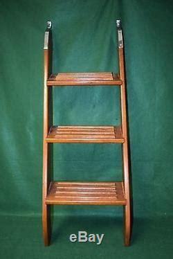 Vintage Boat Ladder by Vintage Non Folding Boat Boarding Ladder Mahogany Teak 44