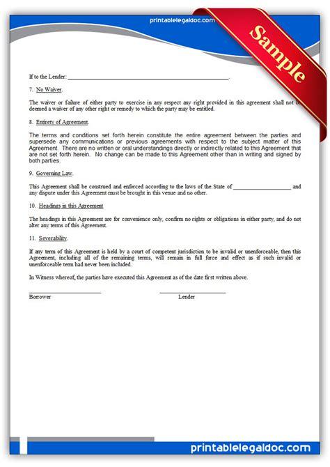 printable promissory note demand form generic