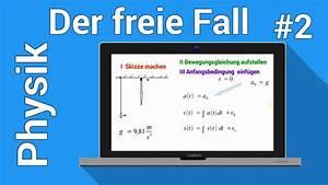 Geschwindigkeit Freien Fall Berechnen : der freie fall fallzeit berechnen in der physiknachhilfe mechanik des massenpunktes youtube ~ Themetempest.com Abrechnung