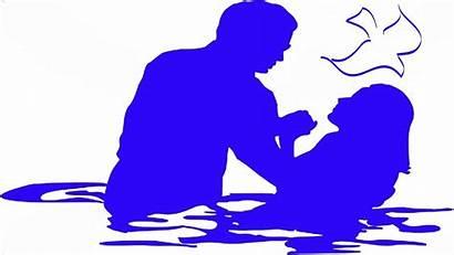 Water Spirit Jesus Baptized Bible Holy Taught