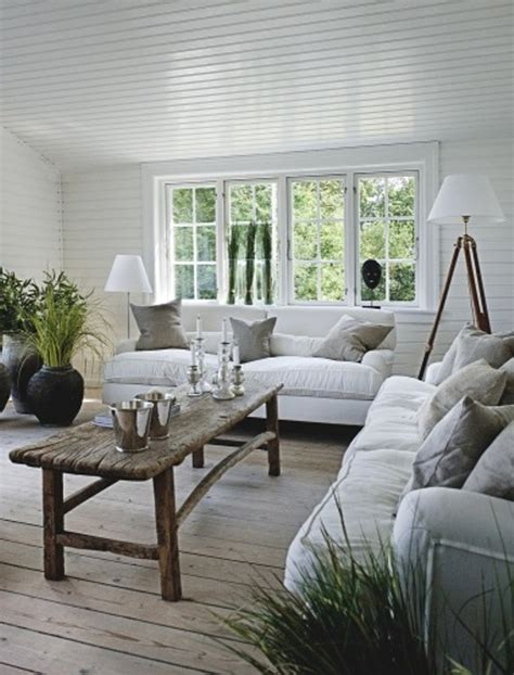 coastal style floor ls summer house decorated with rough wooden furniture digsdigs