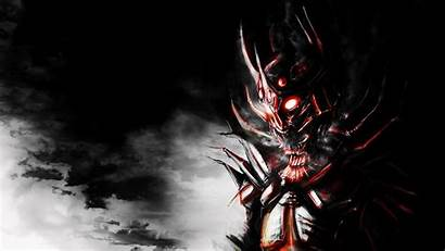 Demon Dark Skull Scary Creature Wallpapers Dremora