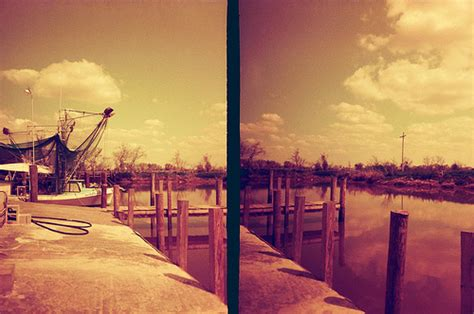Don S Boat Landing Erath La by Redscale In The Golden Half A California Yankee In