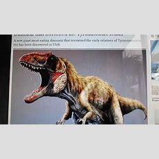 New Dinosaur Discovered Siats Meekerorum! Youtube