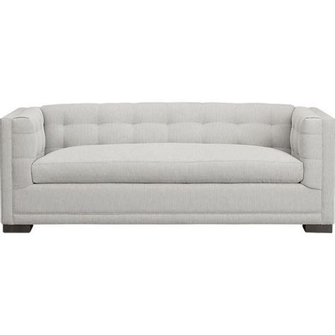 crate and barrel apartment sofa evie apartment sofa crate and barrel