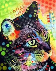 cat painting dia designs cats in