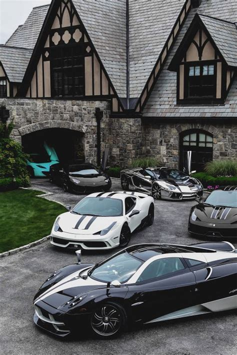 Mansions And Luxury Cars