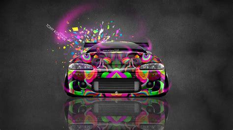 Domo Jdm Wallpaper by Mitsubishi Eclipse Jdm Tuning Front Domo Kun Car 2014