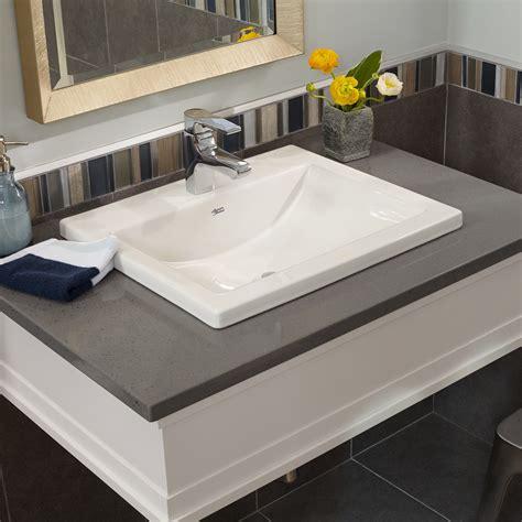 square drop in bathroom sink studio drop in bathroom sink american standard