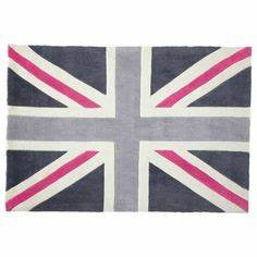 1000 images about chambre clara on pinterest deco With tapis union jack