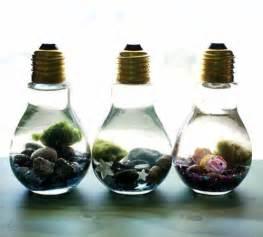 Terrarium Lamps by 10 Ingeniosas Ideas Para Decorar La Casa Con Bombillas