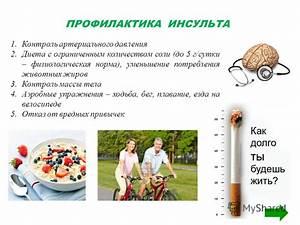 Контроль гипертонии профилактика инсульта