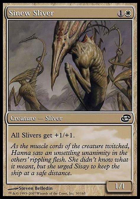 Sinew Sliver (mtg Card
