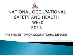 THE PREVENTION OF OCCUPATIONAL DISEASES Occupational Diseases