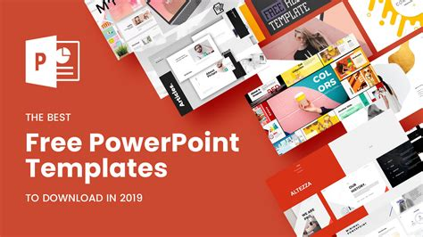 Best Free The Best Free Powerpoint Templates To In 2019