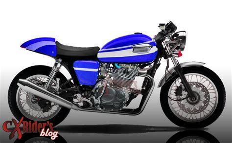 Honda Tiger Modifikasi Motor Cafe by Modifikasi Honda Tiger Caferacer Cxrider