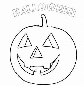 Citrouille Halloween Dessin : coloriage citrouille pour halloween ~ Melissatoandfro.com Idées de Décoration